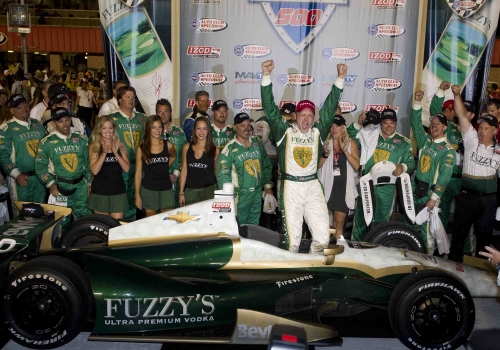 Last Lap Pass Puts ECR In Fuzzy's 19th Hole Victory Lane at Fontana