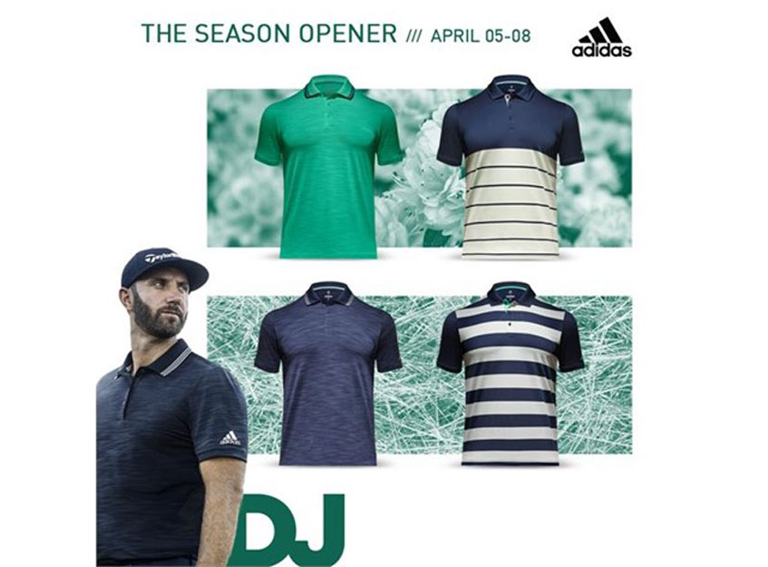 8e157a97 After a disappointing injury and WD at the 2017 Masters, DJ returns to  Augusta National Golf Club with a mix of familiar colors and fresh styles.