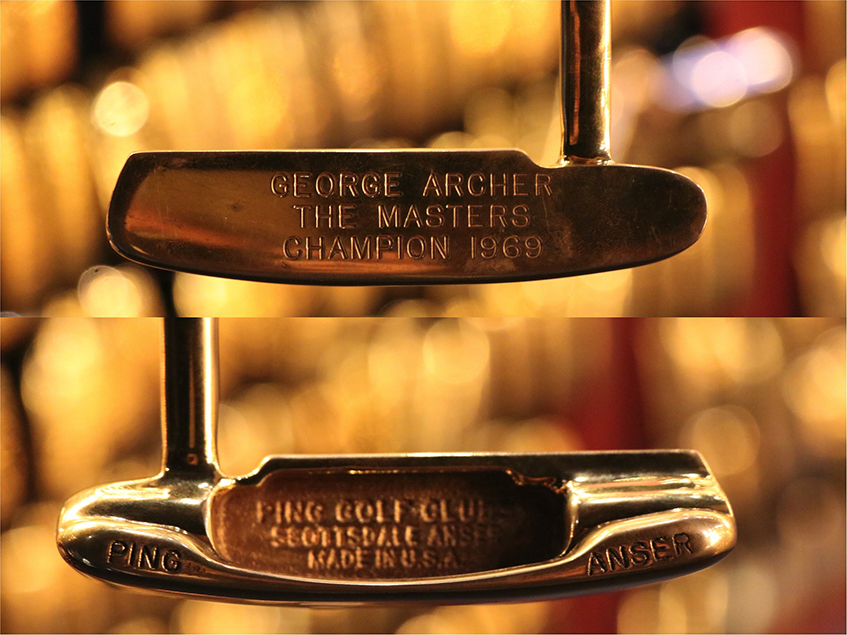 4 history anser ping putter Ping putter