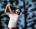 KAPALUA, HI - JANUARY 08:  Bubba Watson hits a tee shot on third hole during the final round of the Hyundai Tournament of Champions at the Plantation Course on January 8, 2013 in Kapalua, Hawaii.  (Photo by Christian Petersen/Getty Images)
