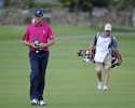 HONOLULU, HI - JANUARY 10:  Davis Love III plays to 13th green during the first round of the Sony Open in Hawaii at Waialae Country Club on January 10, 2013 in Honolulu, Hawaii. (Photo by Chris Condon/PGA TOUR)