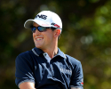 HONOLULU, HI - JANUARY 12: Scott Langley waits to play the first hole during the third round of the Sony Open in Hawaii at Waialae Country Club on January 12, 2013 in Honolulu, Hawaii. (Photo by Stan Badz/PGA TOUR)