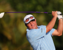 HONOLULU, HI - JANUARY 12:  Scott Gardiner of Australia hits a tee shot on the 16th hole during the thrid round of the Sony Open in Hawaii at Waialae Country Club on January 12, 2013 in Honolulu, Hawaii.  (Photo by Christian Petersen/Getty Images)