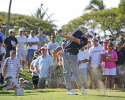 HONOLULU, HI - JANUARY 12: Scott Langley tees off on the 11th hole during the third round of the Sony Open in Hawaii at Waialae Country Club on January 12, 2013 in Honolulu, Hawaii. (Photo by Chris Condon/PGA TOUR)