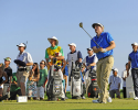 HONOLULU, HI - JANUARY 12: Russell Henley tees off on the 14th hole during the third round of the Sony Open in Hawaii at Waialae Country Club on January 12, 2013 in Honolulu, Hawaii. (Photo by Chris Condon/PGA TOUR)