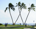 HONOLULU, HI - JANUARY 12: A view of the 16th green during the third round of the Sony Open in Hawaii at Waialae Country Club on January 12, 2013 in Honolulu, Hawaii. (Photo by Chris Condon/PGA TOUR)