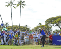 HONOLULU, HI - JANUARY 12: Scott Piercy tees off on the 11th hole during the third round of the Sony Open in Hawaii at Waialae Country Club on January 12, 2013 in Honolulu, Hawaii. (Photo by Chris Condon/PGA TOUR)