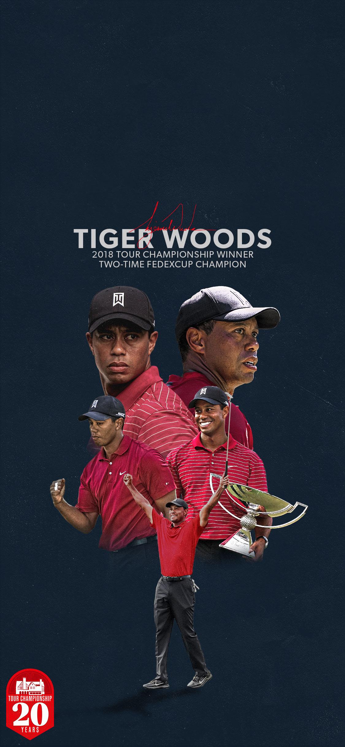 TOUR Championship: iPhone Wallpapers