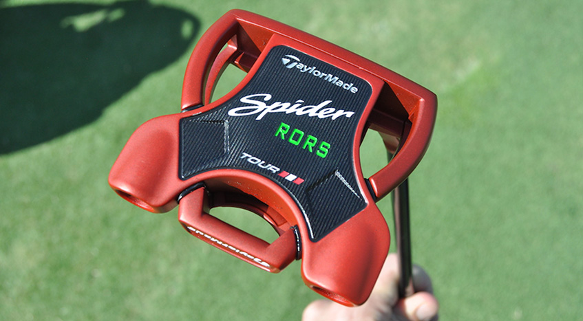 mcilroy set to use taylormade spider tour red putter at u