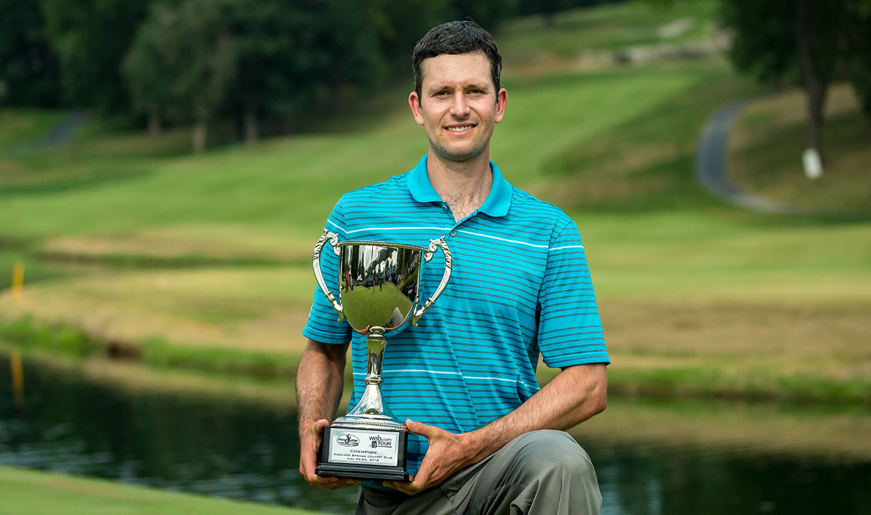 martin trainer wins price cutter charity championship