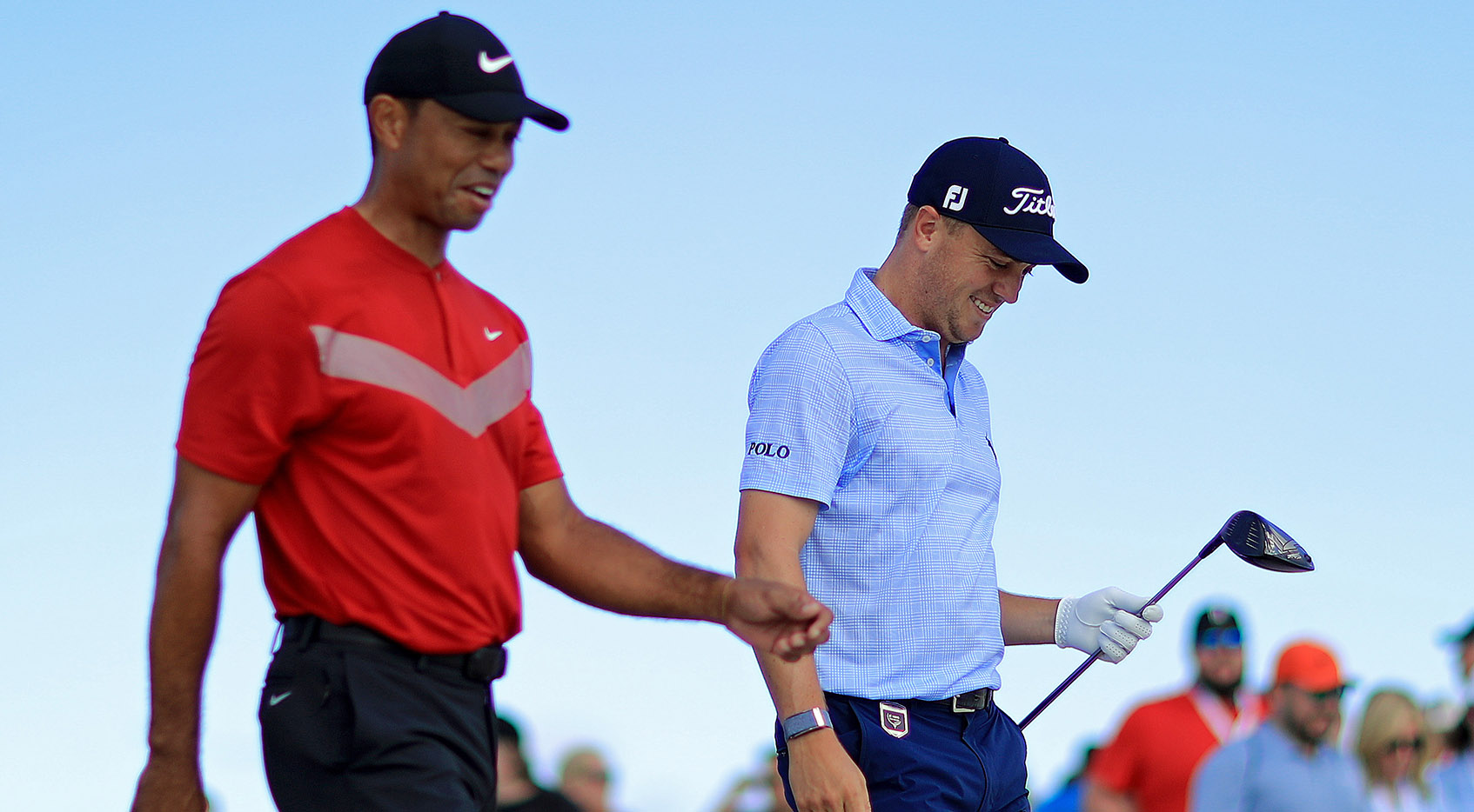 Woods 'very happy with most of the team' at Hero World Challenge
