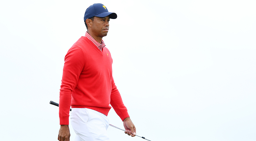 Tiger's day as a player? Good. As a captain? Well …