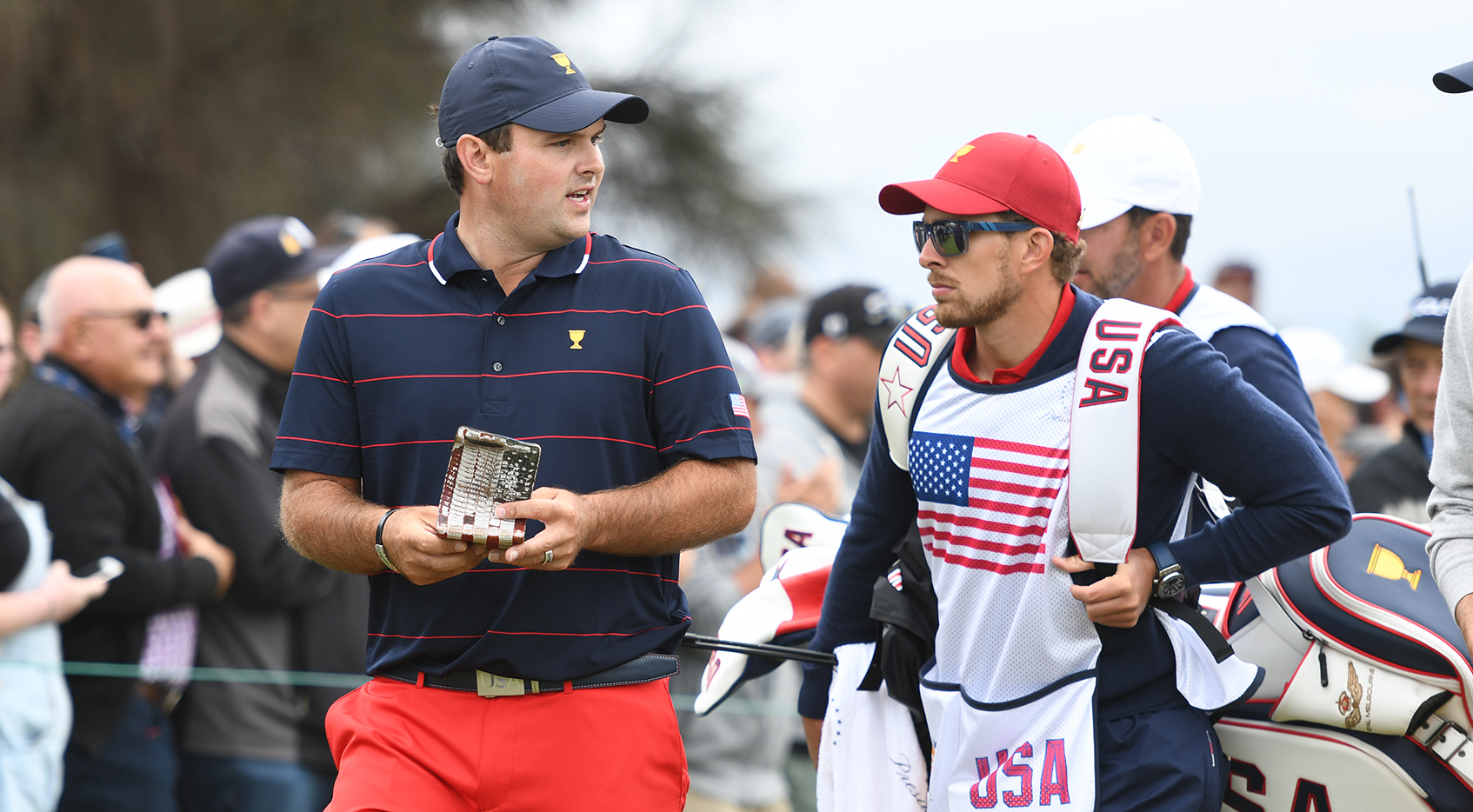 Reed's caddie will not return for Sunday Singles