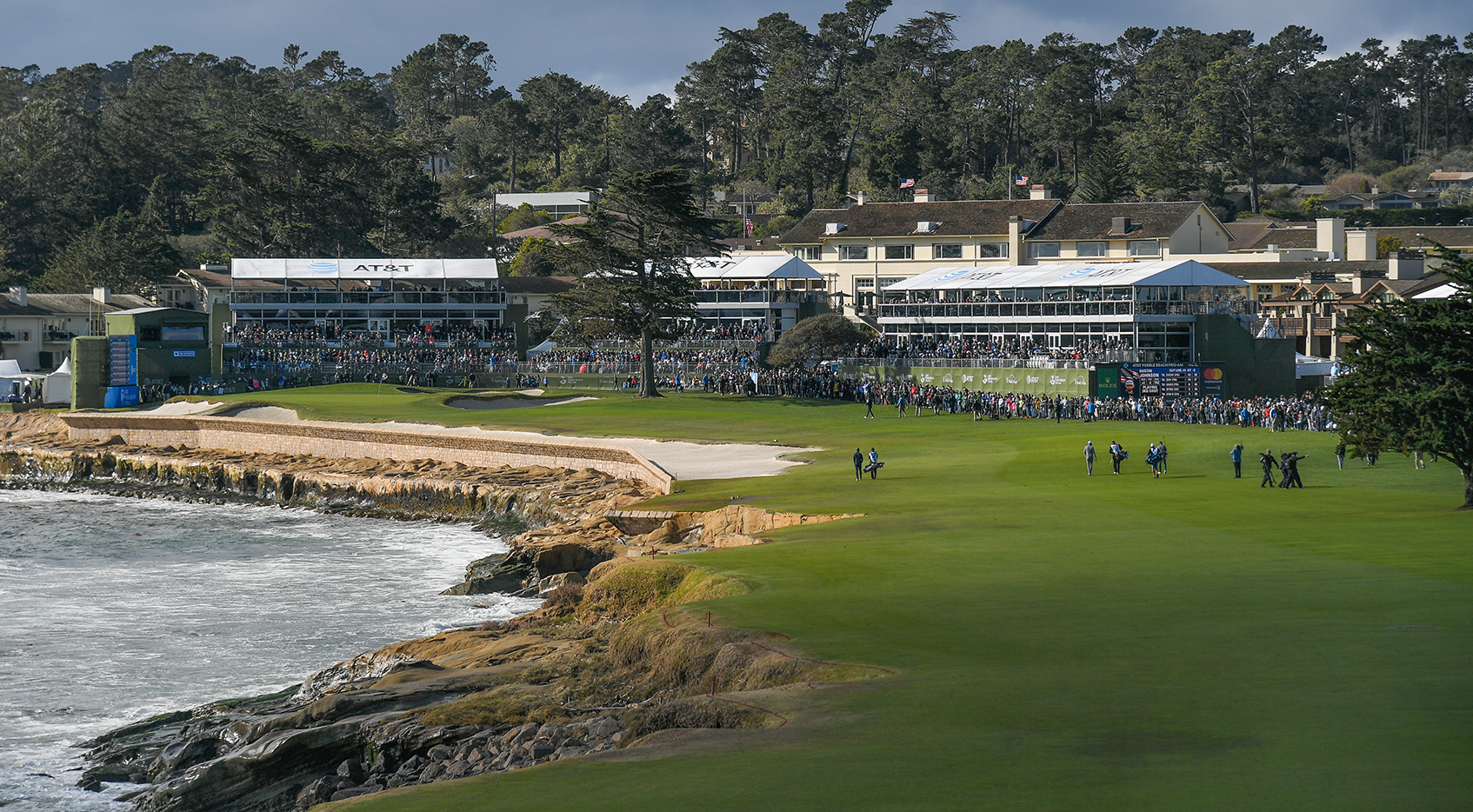 AT&T Pebble Beach Pro-Am, Round 4: Leaderboard, tee times, TV times