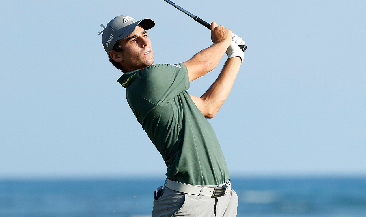 Niemann finishes with eagle to share lead at Sony Open in Hawaii