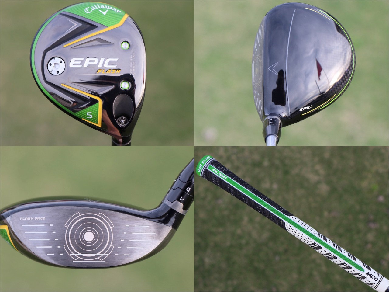 Detailed look at Callaway's Epic Flash drivers and woods