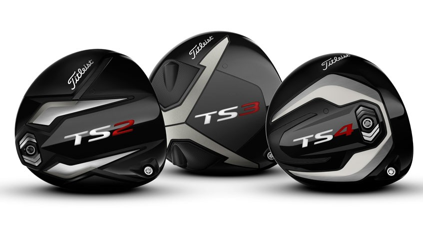 Titleist unveils new, low-spin TS4 drivers at the 2019