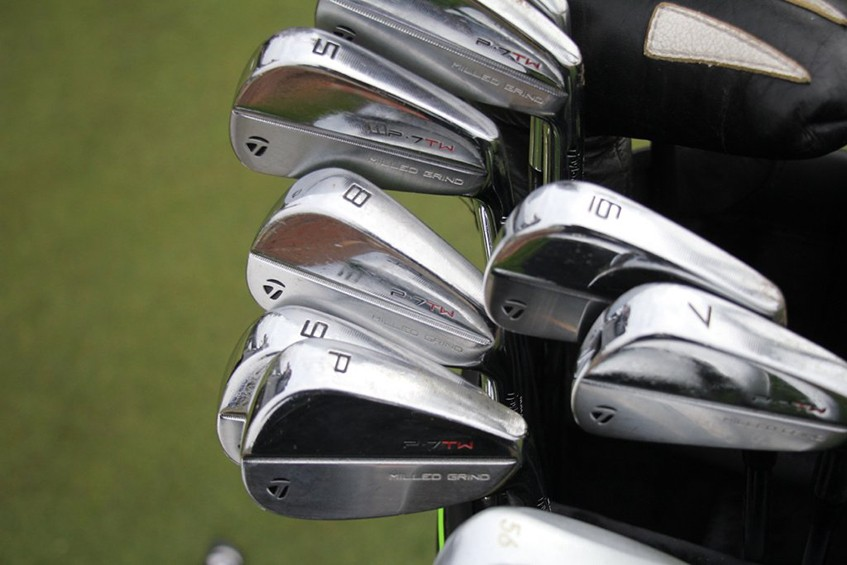 a-close-look at tiger-woods-taylormade-p7tw-irons