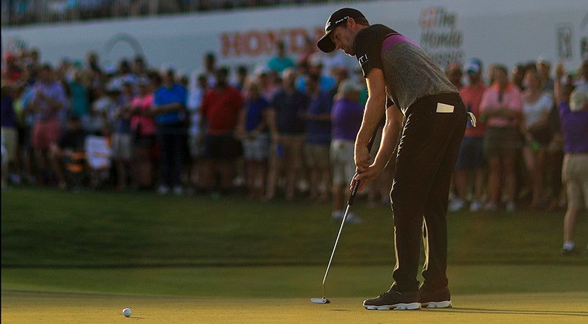 How arm-lock putting became vogue on the PGA TOUR