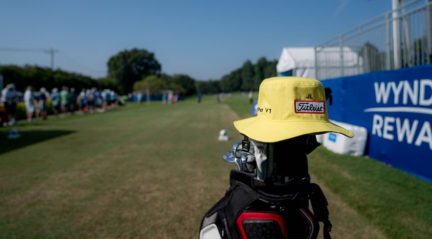 Jarrod Lyle honored with first tee tribute at Wyndham Championship f97dd418914