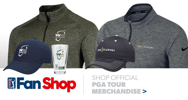 The Fan Shop is your stop for official PGA TOUR merchandise from hats, polos, jackets and more.
