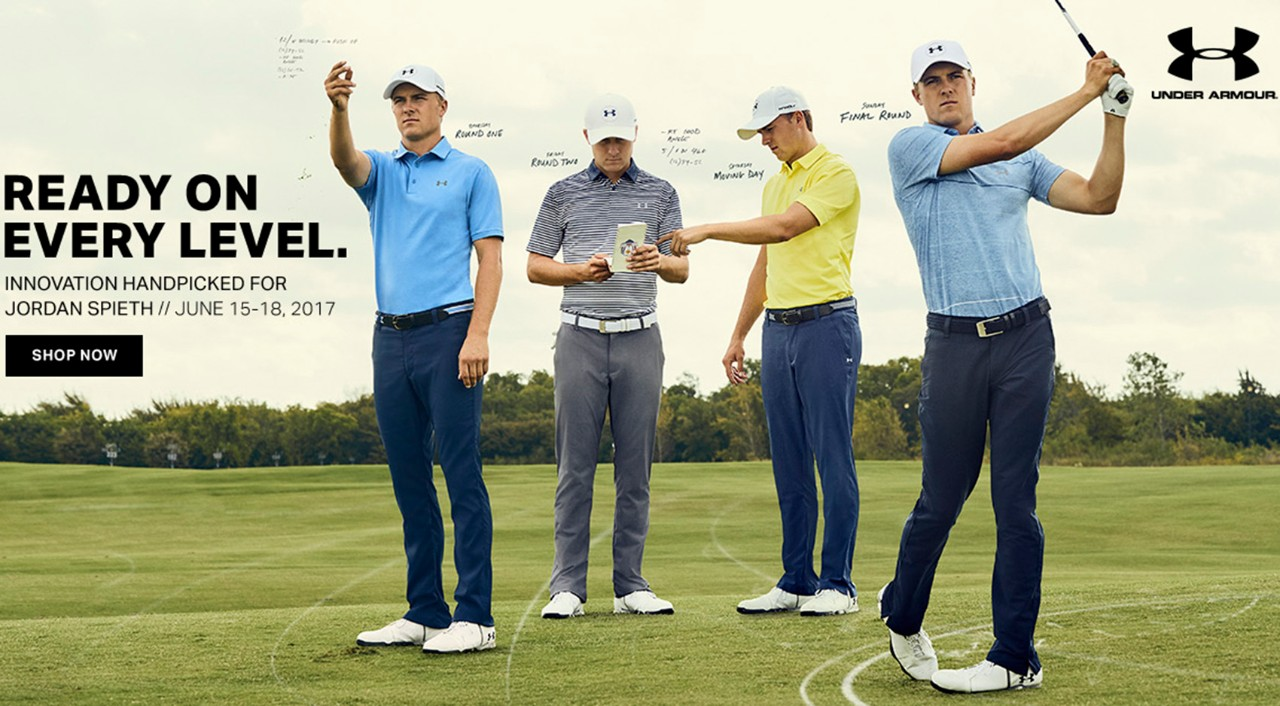 wholesale sales performance sportswear 2018 sneakers Under Armour Golf Shirts Worn By Jordan Spieth | AGBU Hye Geen