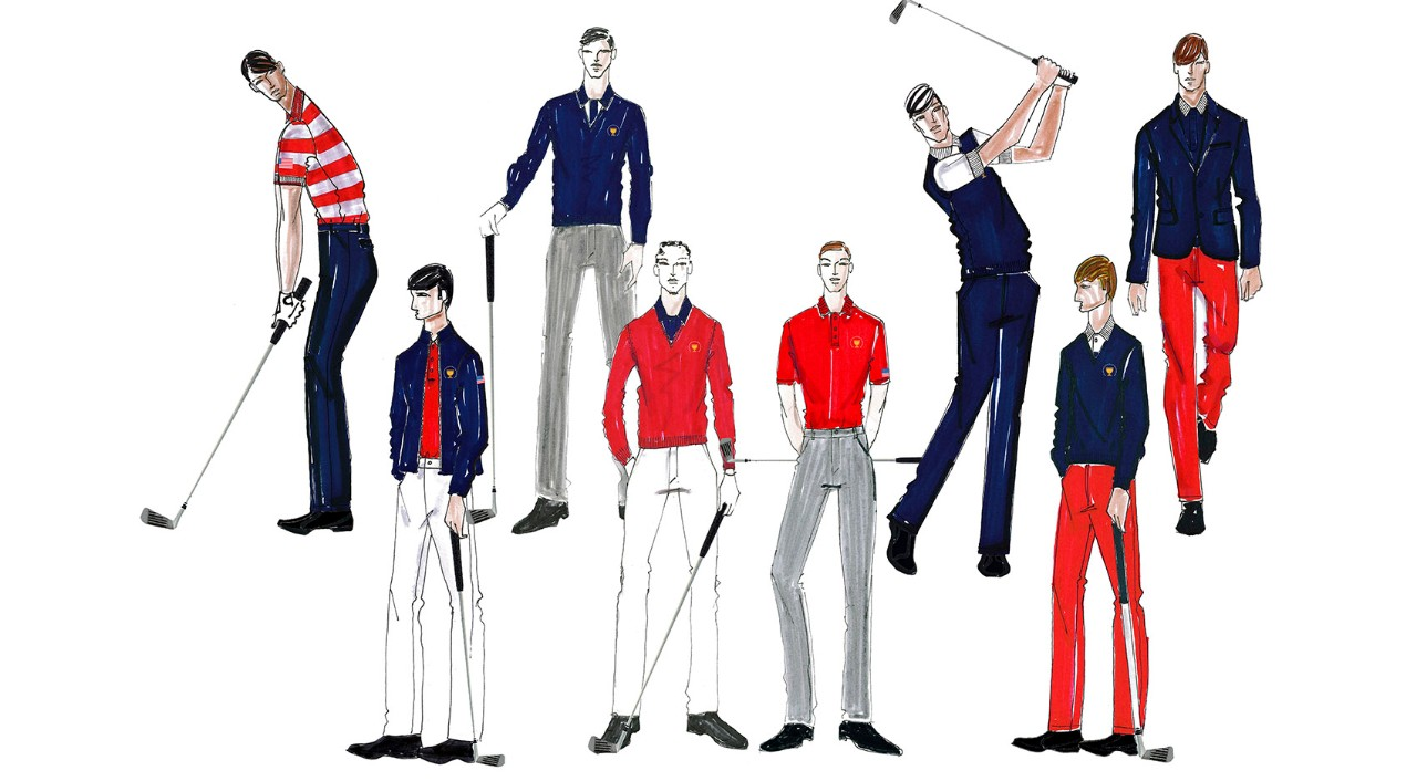 Style Insider Lacoste Outfits Presidents Cup Teams In Style