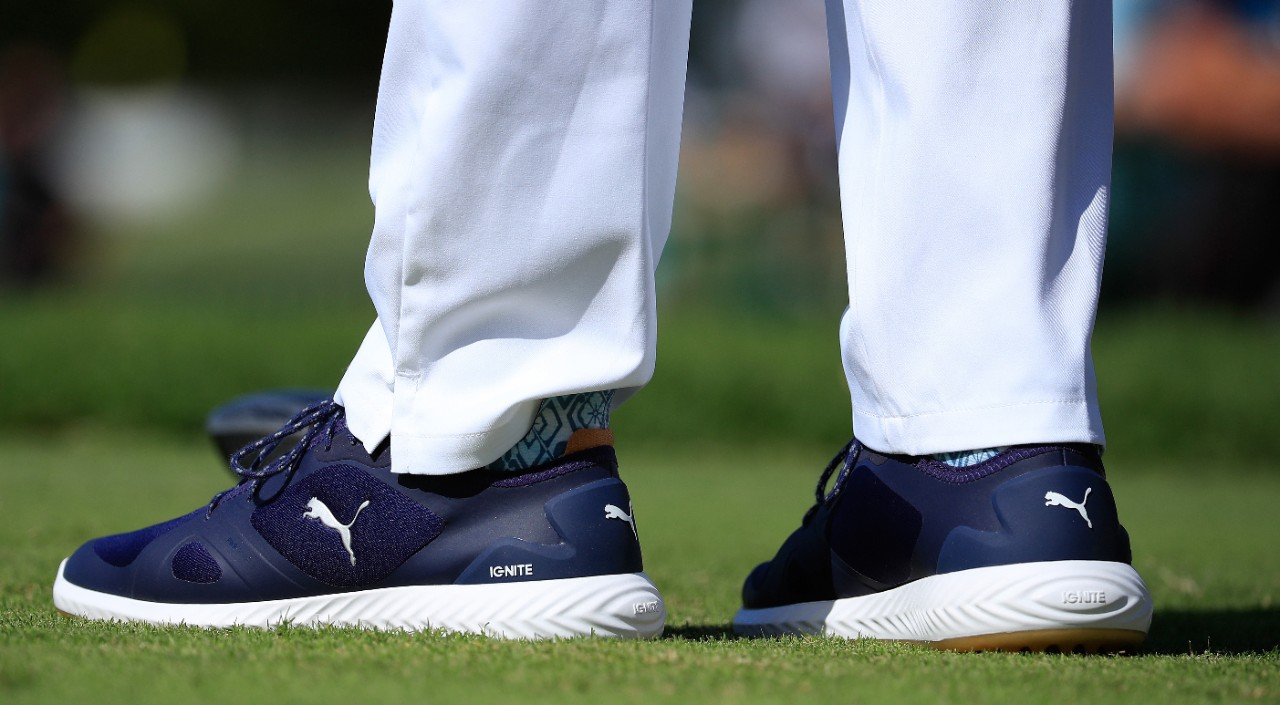f39e675350b4a Rickie's new kicks: Puma Golf IGNITE PWRADAPT