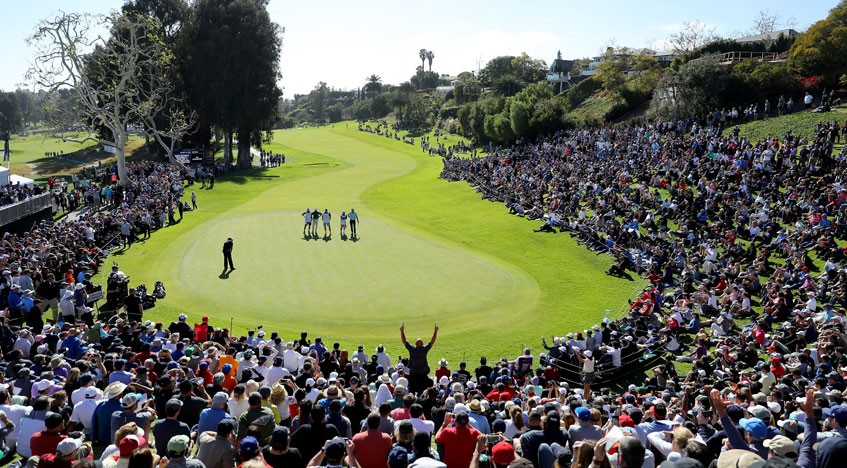 Genesis Invitational: Tiger Woods' challenge falls away in California